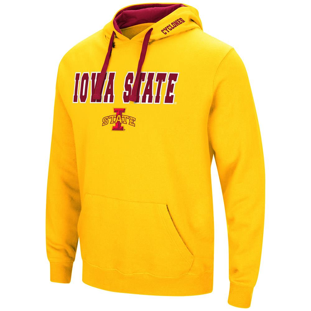 Mens Iowa State Cyclones Pull-over Hoodie - S