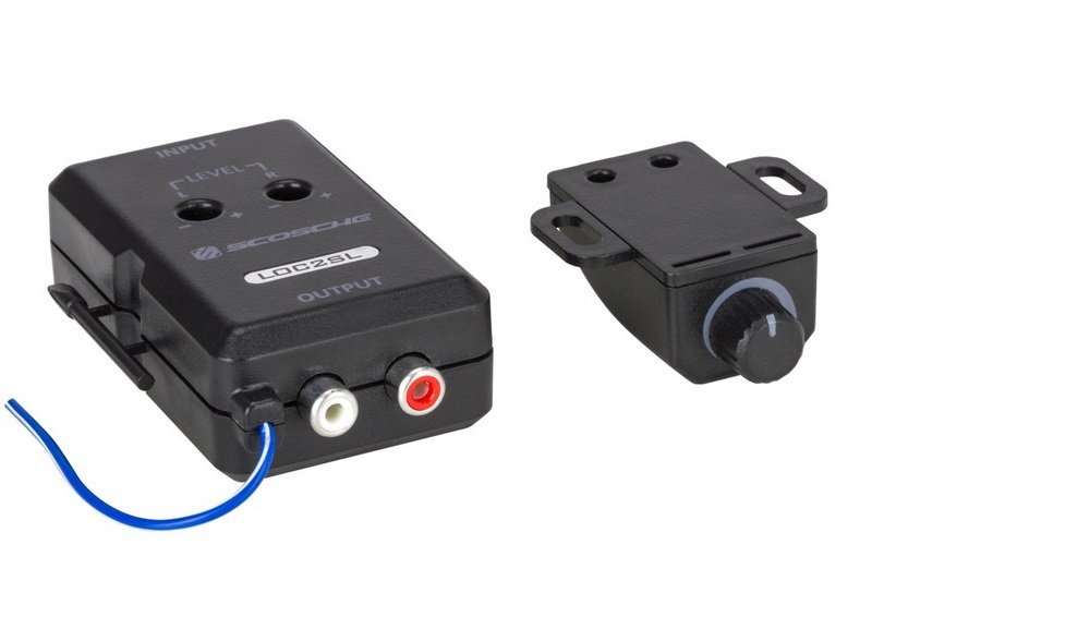 Loc2sl Line Out Converter With Bass Control By Scosche Walmart