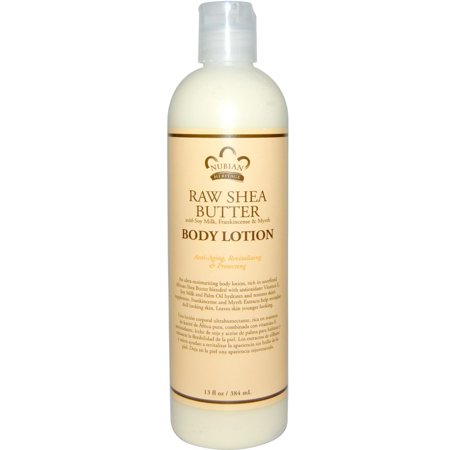 - Nubian Heritage Nubian Lotion, Raw Shea and Myrrh, 13 Oz