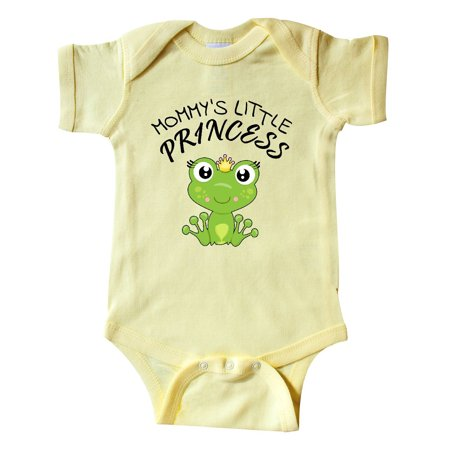 Mommy's Little Princess- cute frog Infant Creeper