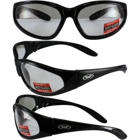 Hunting Shooting Construction Safety Glasses with Clear Lenses Meet ANSI Z87.1-2003 Standards for Safety Eyewear These are almost indestructible give them a try you will (See Eyewear Coupon)