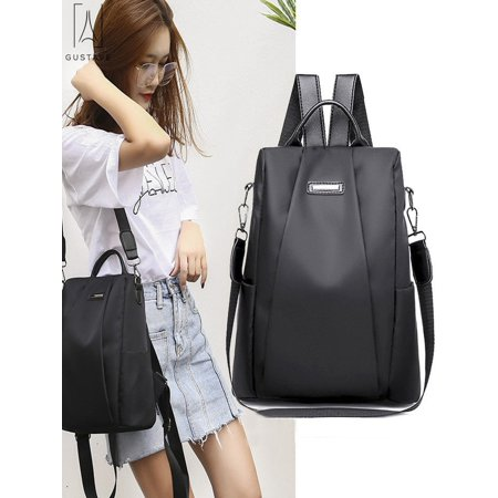 GustaveDesign Women Backpack Waterproof Oxford Cloth Anti-theft Rucksack Travel Shoulder Bag School Bags for Girls