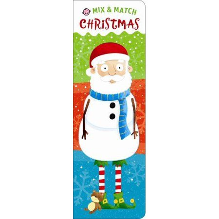 Mix Board - Mix and Match: Mix and Match: Christmas by Roger Priddy (2017, Board Book)