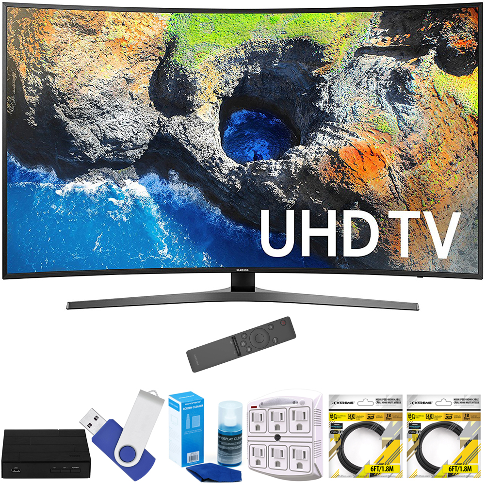 "Samsung UN55MU7500FXZA 54.6"" Curved 4K Ultra HD Smart LED TV (2017 Model)"
