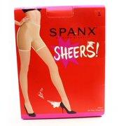 SPANX Brown Cocoa Nylon Sheer Shaping Women's Size E Pantyhose