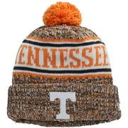Tennessee Volunteers New Era Team Logo Sport Cuffed Knit Hat with Pom - Tennessee Orange - OSFA