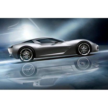 Corvette Stingray Concept Poster 11x17 Mini Poster (Concert Mini Poster)