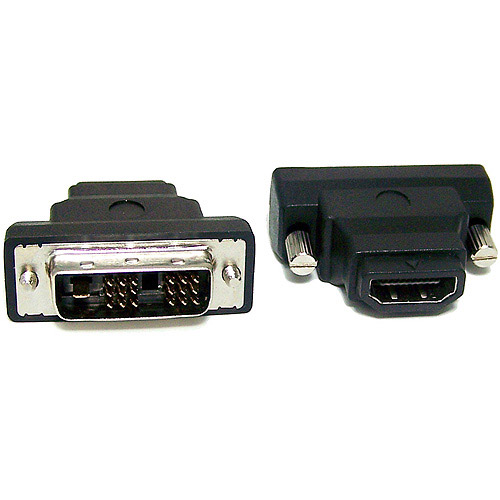 Micro Connectors HDMI Female/DVI Male Adapter