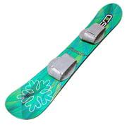 Snow Daze 110 cm Green Pattern Kids Beginner Snowboard