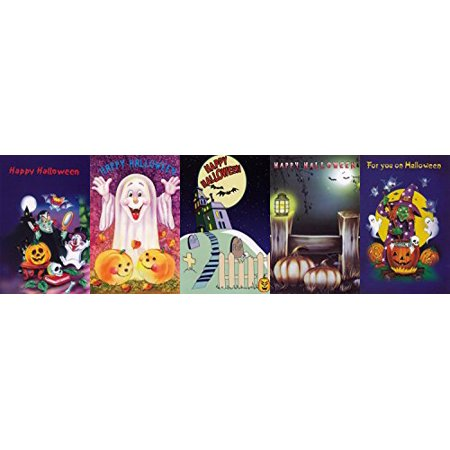 Halloween Greeting Cards Assorted 30 Pack - Halloween Card Puns