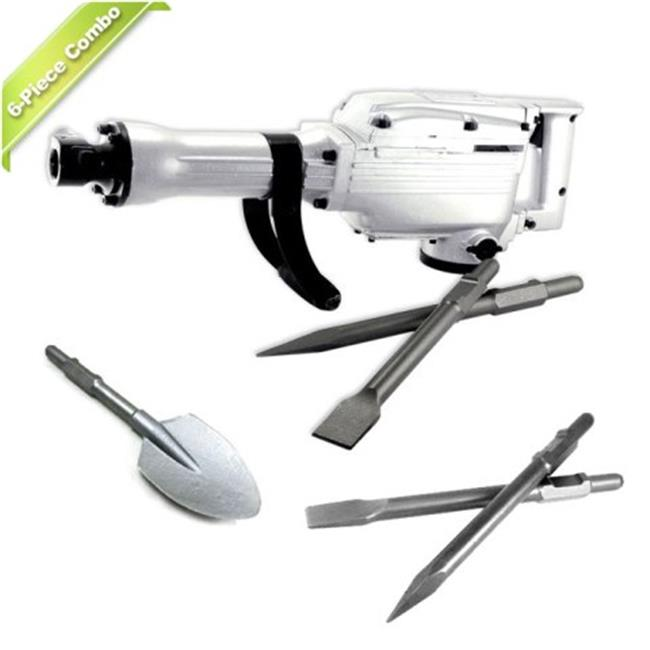 TR Industrial TR81007 6 Pieces Electric Jack Hammer with ...