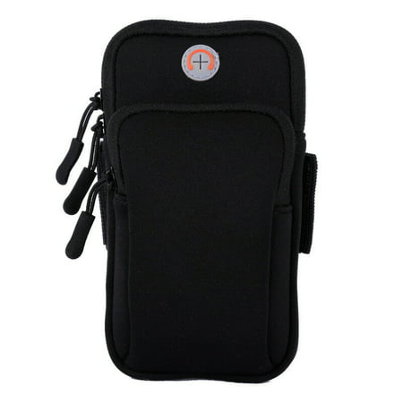 Sport Armband Running Jogging Gym Holder Arm Band Bag Case Pouch For Cell Phone iPhone Samsung LG Sony (up to 6