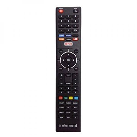 New Tv Remote Fit For Element Led Tv Remote Control With Vudu Netflix Keys