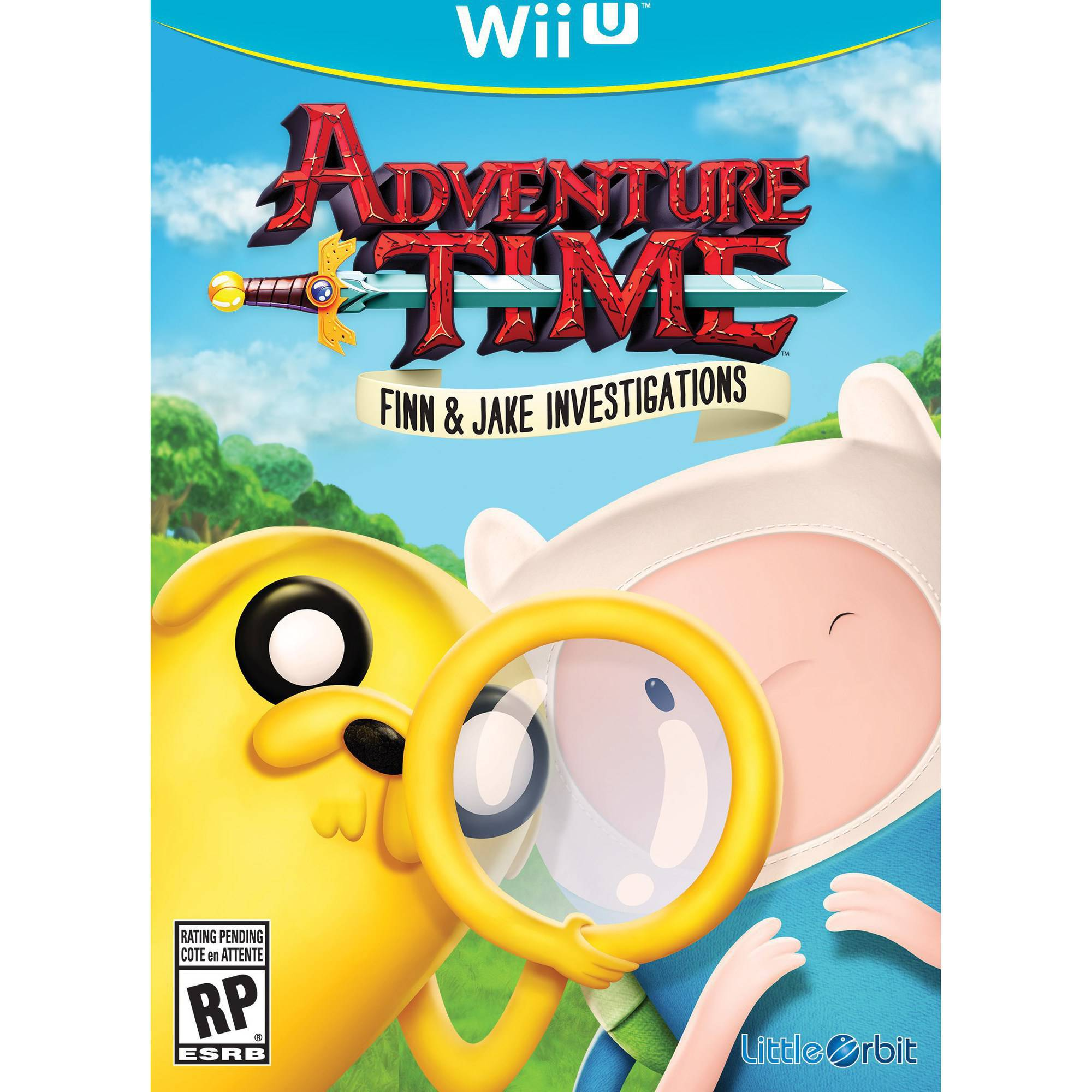 Adventure Time Finn Jake (Wii U) - Pre-Owned