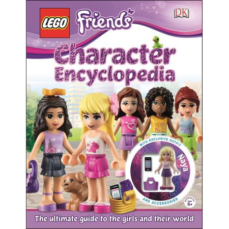 LEGO® FRIENDS Character Encyclopedia : The Ultimate Guide to the Girls and Their World - Book Character Ideas For Girls