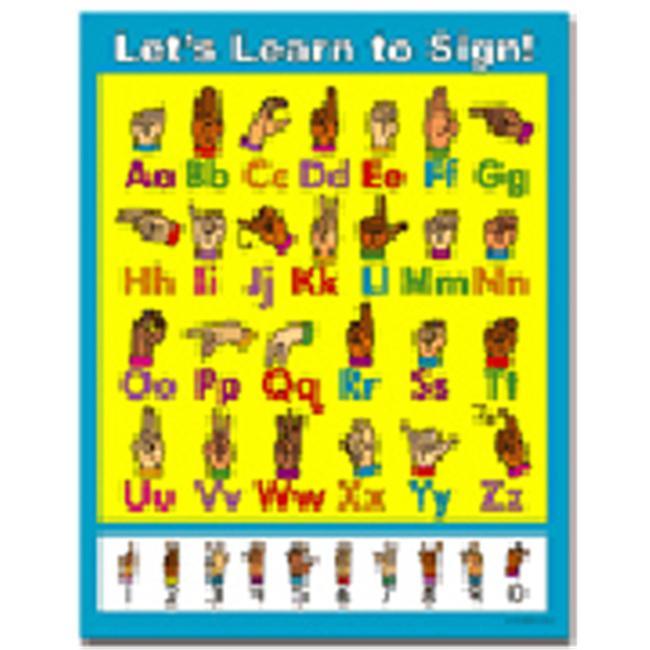 CARSON DELLOSA CD-6271 LETS LEARN TO SIGN