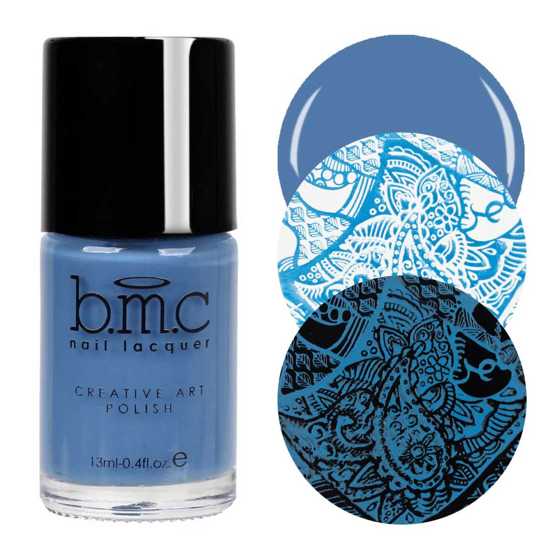 BMC Fall Earth Tone Colored Creative Art Stamping Polish Set - Mythos Collection