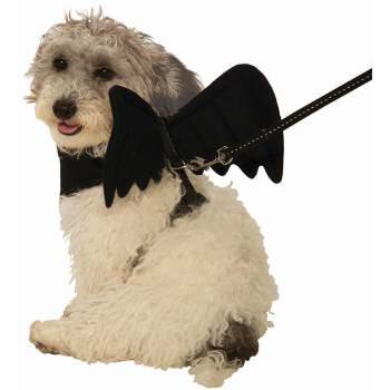 PET COST-BLK BAT WING HARN-SM - Pet Bat