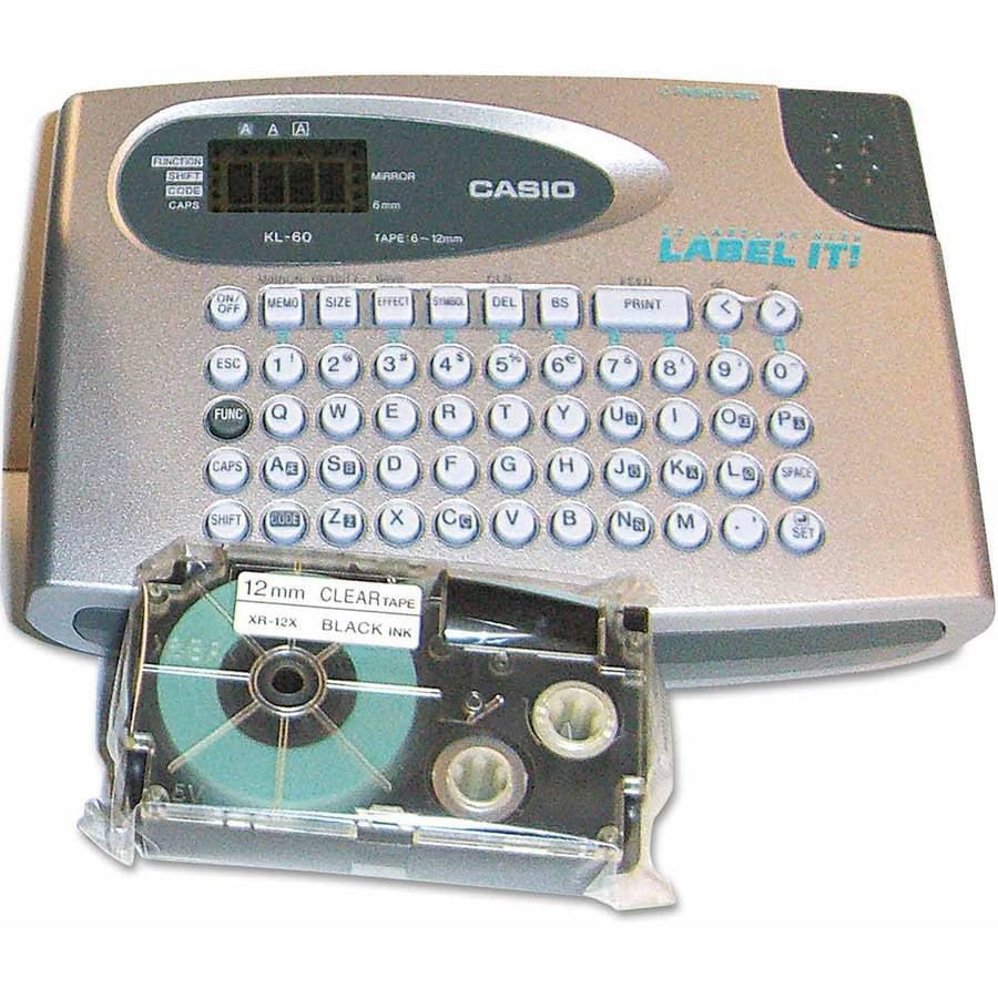 Casio KL60SR Label Maker, 2 Lines