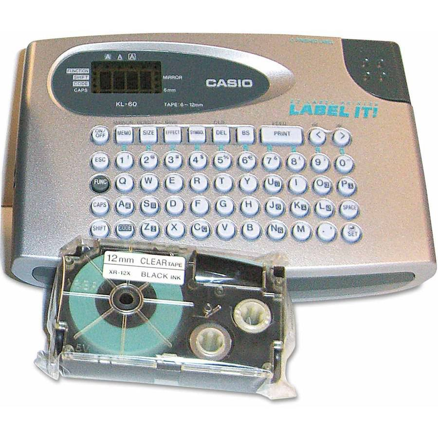 Casio KL60SR Label Maker, 2 Lines