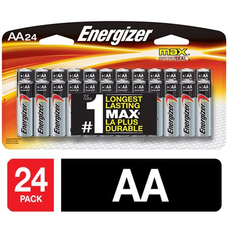 energizer max alkaline aa batteries 24 pack. Black Bedroom Furniture Sets. Home Design Ideas
