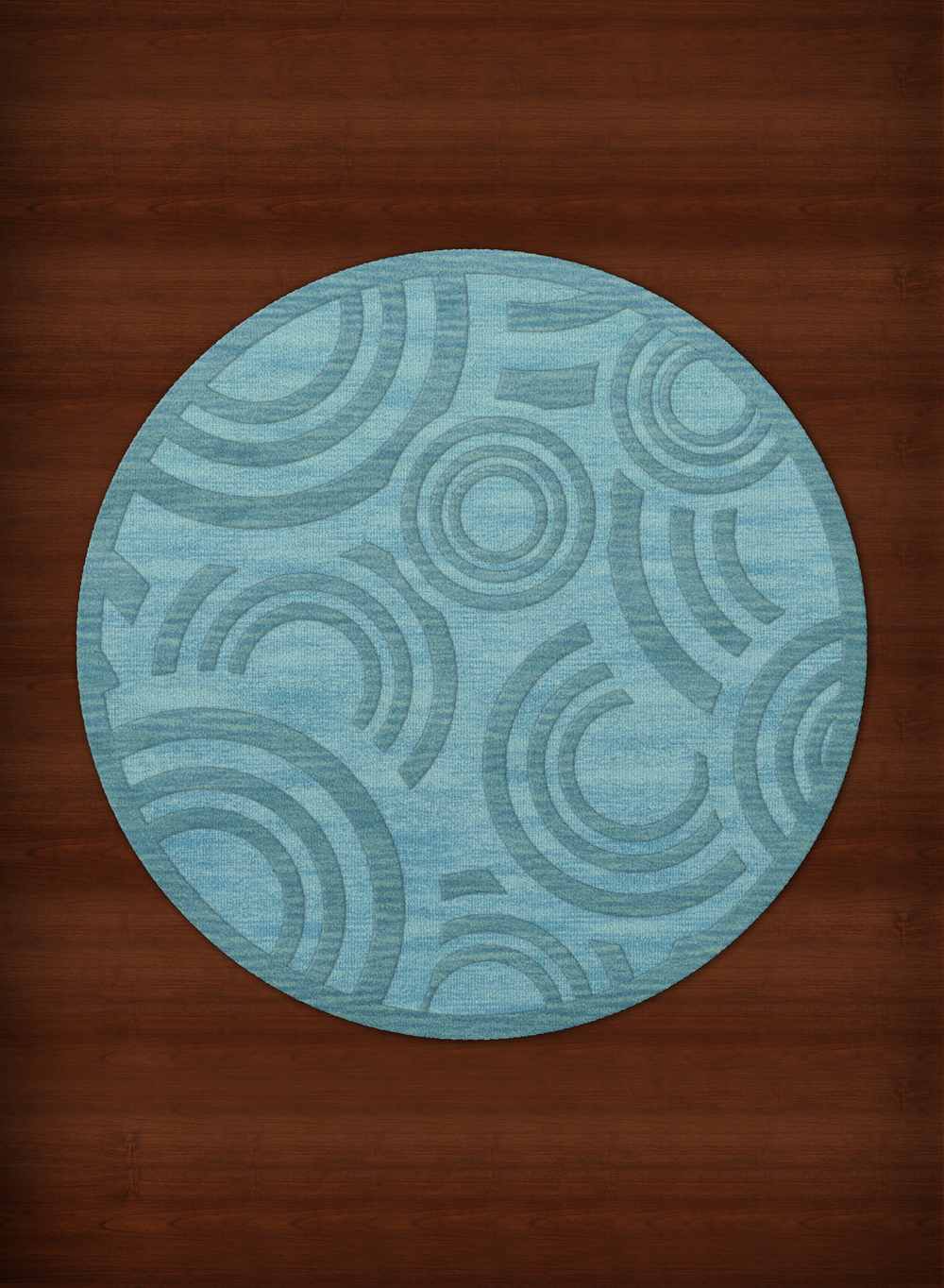 Dalyn Dover Area Rugs Dv3 Transitional Peacock Circles