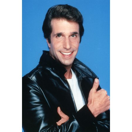 Henry Winkler in Happy Days 24x36 Poster as the Fonz thumbs up!](The Fonz Happy Days)