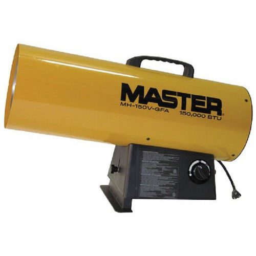 Master MH-150V-GFA 150,000 BTU Variable Output LP Forced Air Heater