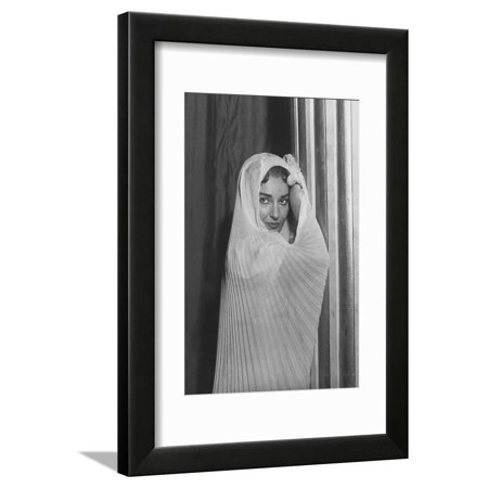 Maria Callas Framed Print Wall Art