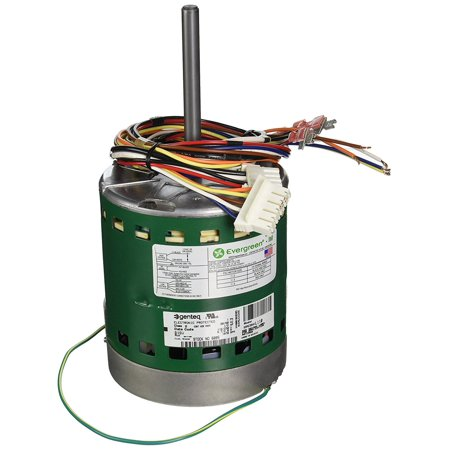Diversitech 6005 ECM Motor for repalcement of PSC blower motors, 1/2HP  115/230VAC, 6 7/4 0FLA
