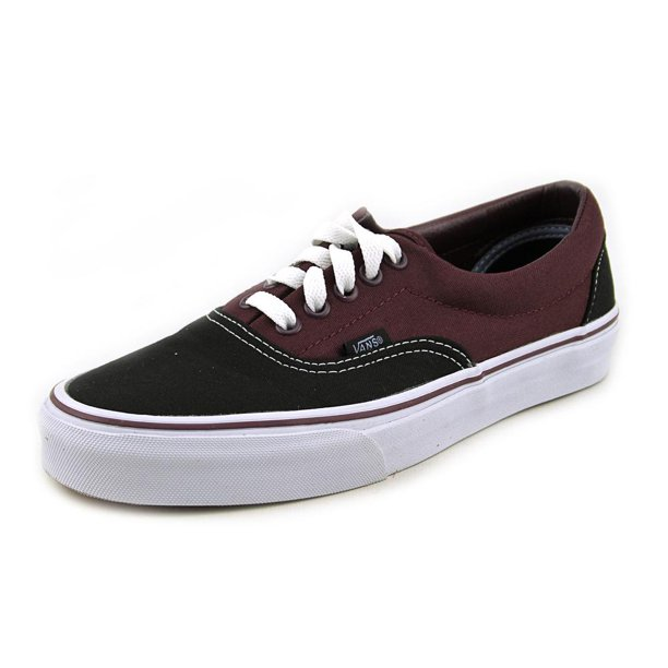Vans U Era Women  Round Toe Canvas Black Sneakers