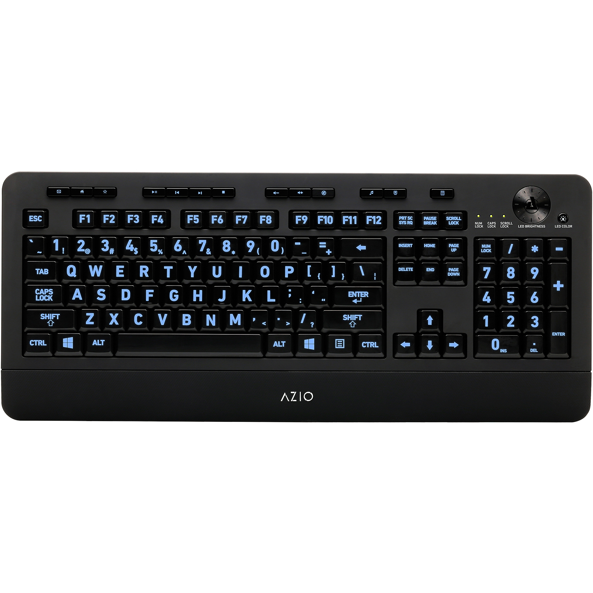 AZiO KB506 Backlit USB Keyboard