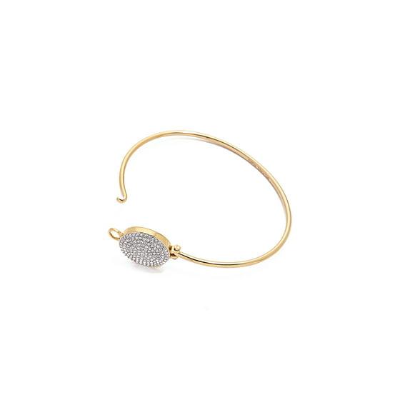 4cde8ab285be0 Michael Kors Crystal Pave Disc Bangle Bracelet