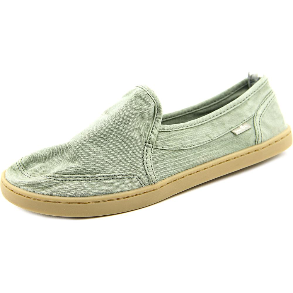 Sanuk Pair o Dice   Round Toe Canvas  Loafer