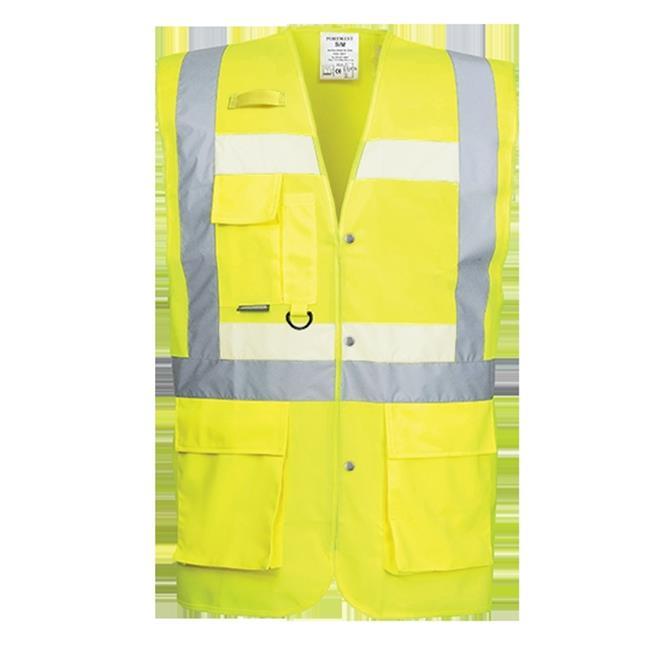 Portwest G476 Large Glowtex Executive Vest, Yellow - Regular - image 1 de 1