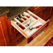 """Rev-A-Shelf 4Wct-1 4Wct Series 14-5/8"""" Wide Trimmable Cutlery Tray"""