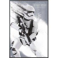 "Star Wars: Episode VII - The Force Awakens - Framed Movie Poster / Print (Stormtrooper) (Size: 24"" x 36"")"