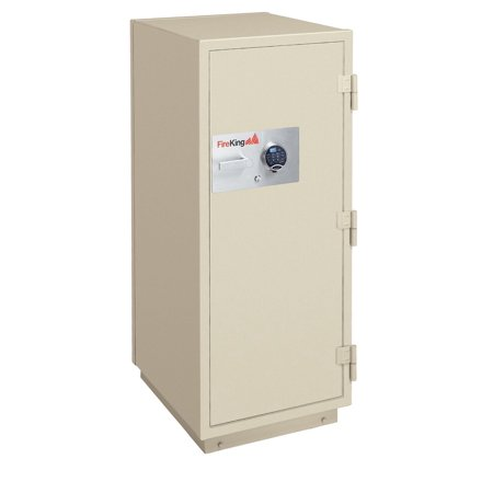 Rated Records Safes (KR3115-2TA 2-Hour Fireproof 4.9 Cubic ft. Capacity Record Safe With Mechanical Combination Lock & 2 Shelf Taupe File Cabinet )