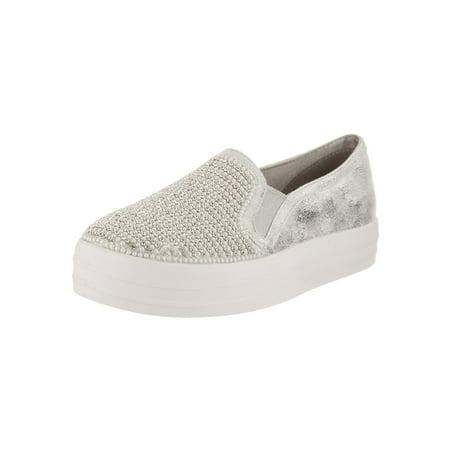 Skechers Kids Double Up - Shiny Dancer Slip-On Shoe - Cheap Exotic Dancer Shoes