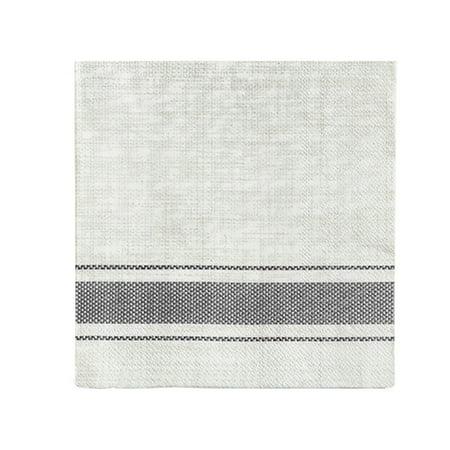 Harman Bistro Stripe Paper Napkin ()