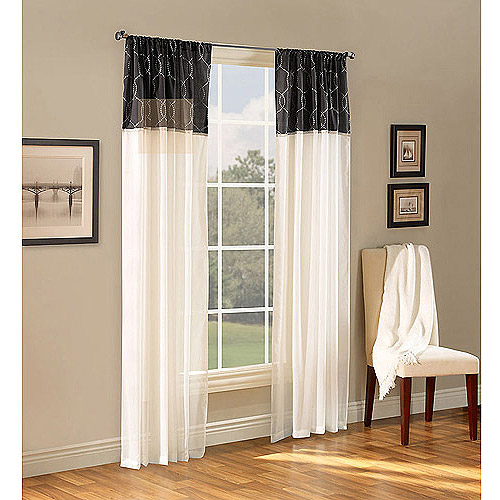 Walmart Curtains For Living Room Interesting Pairs To Go Teller 2 Pack Window Curtains  Walmart Design Inspiration