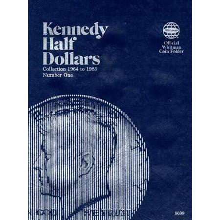Clad Half Dollars - Coin Folders Half Dollars : Kennedy 1964-1985