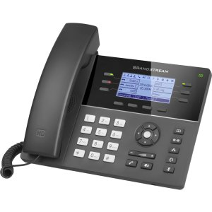 """Grandstream GS-GXP1760W Wireless HD IP Phone Integrated with Wi-Fi 4.6"""" Screen"""