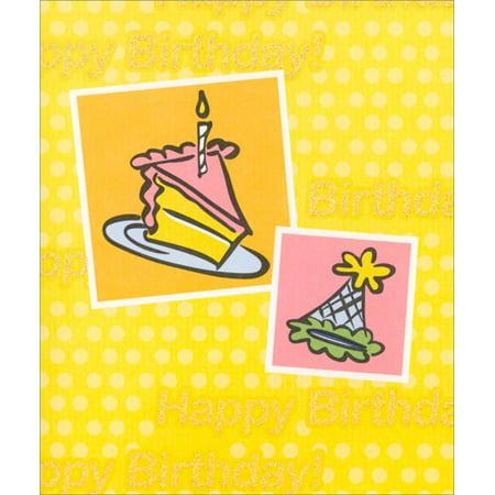 Freedom Greetings Cake & Party Hat Birthday - Birthday Hat Cake