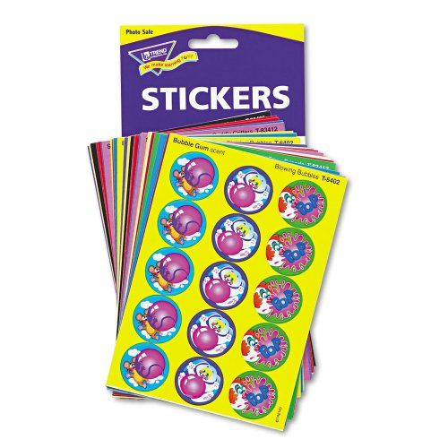 Trend Stinky Stickers Super Saver Variety Pack - 480 Assorted - Paper - Multicolor (T089)