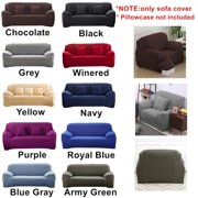 1/2/3/4 Seater Sofa Couch Slipcover Recliner Stretch Covers Elastic Fabric Setter Protector