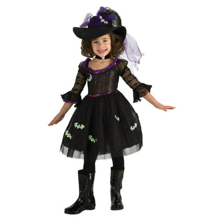 Little Miss Muffet Dress (Child Little Miss Midnight Witch Costume Rubies)