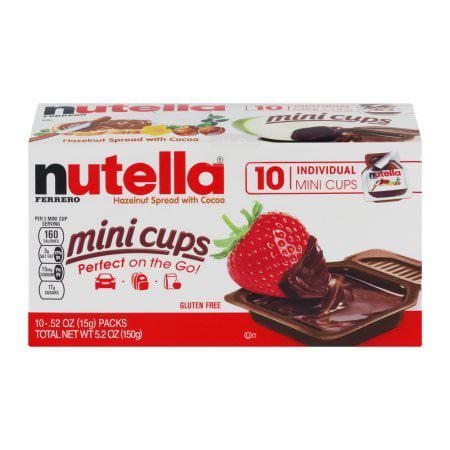 Nutella mini cups 10ct box - Walmart com