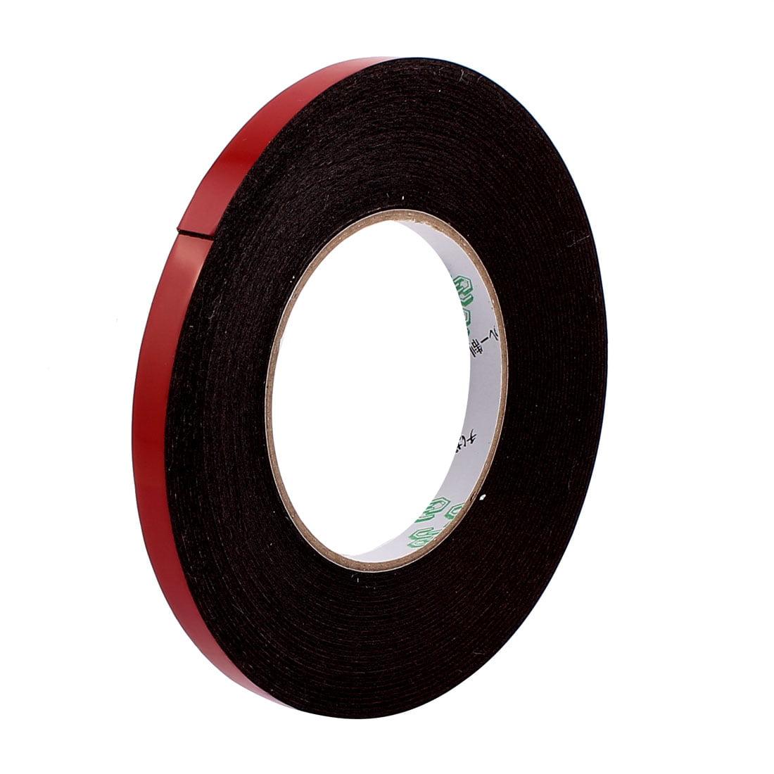 10mmx1mm Double Sided Sponge Tape Adhesive Sticker Foam Glue Strip Sealing 33Ft