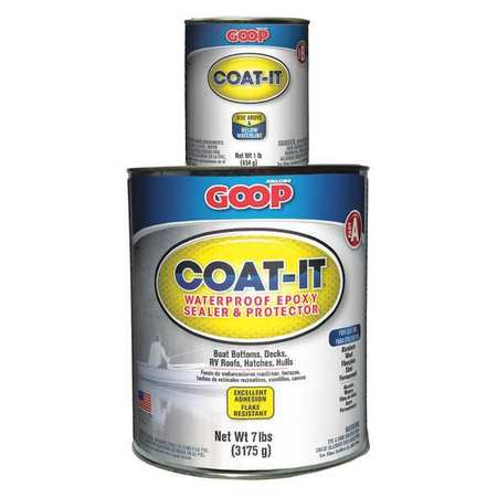AMAZING GOOP 5400060 Epoxy Sealer, Black, Container Can, 8 lb.